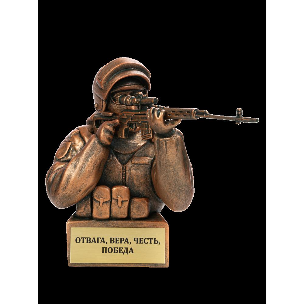 Боец спецназа с СВД
