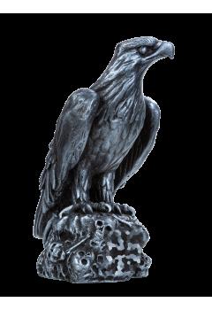 Орёл Третьего Рейха на черепах с крестом