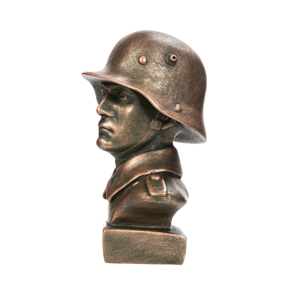 Бюст немецкого солдата времён ПМВ
