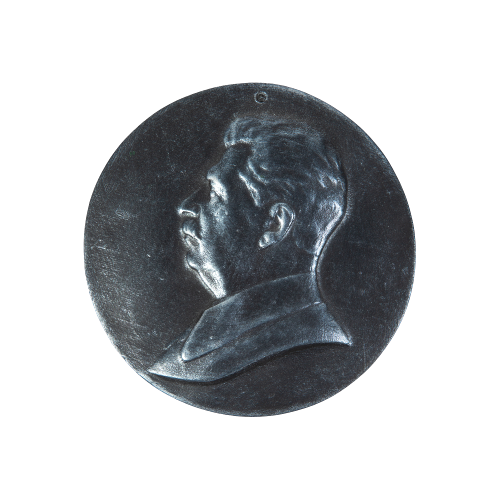 Сталин (барельеф, круглый)