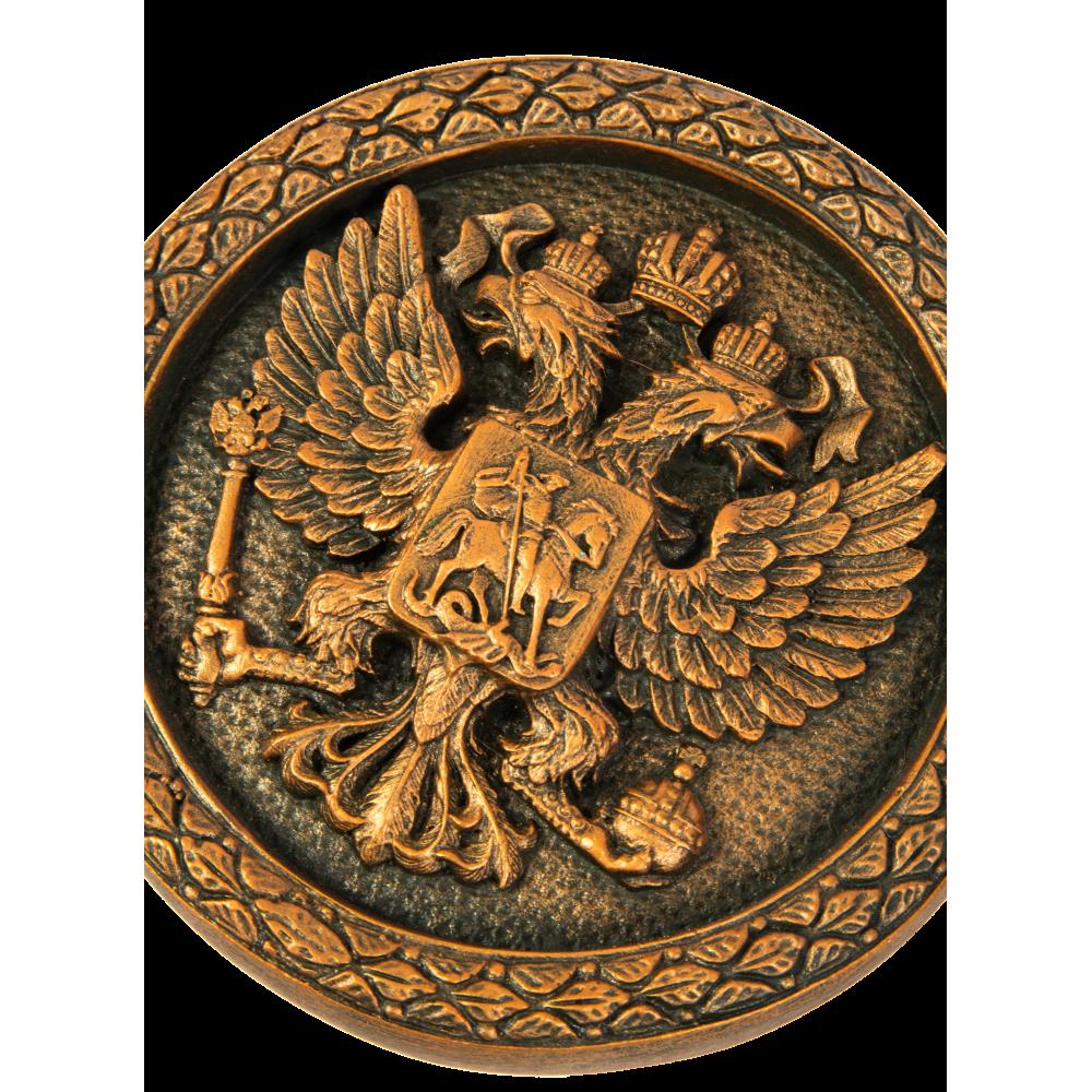 Герб России (круглый)