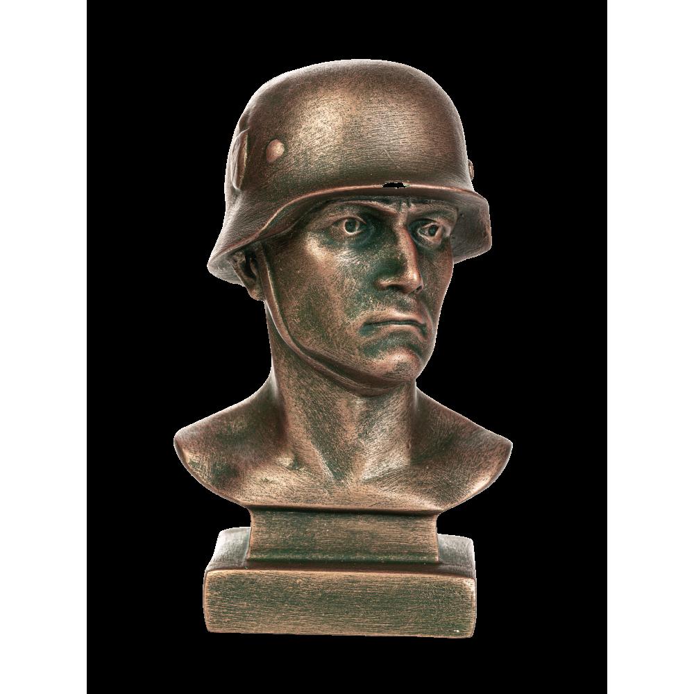 Бюст немецкого солдата