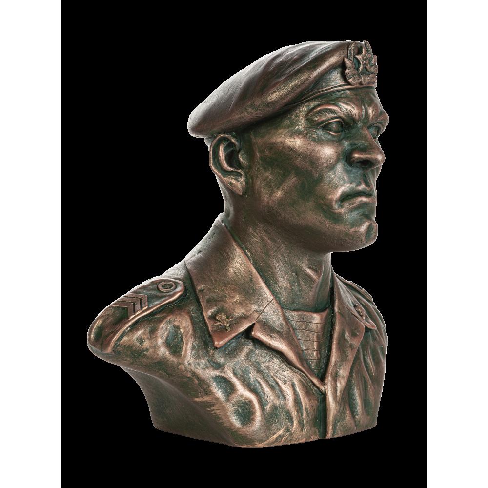 Бюст советского десантника №14