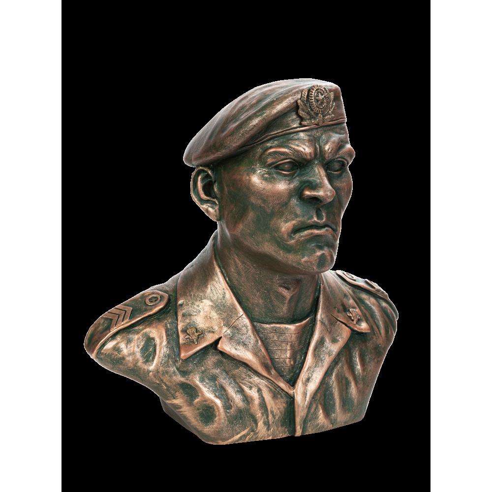 Бюст российского десантника №13