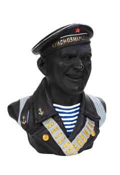 Бюст советского моряка №10