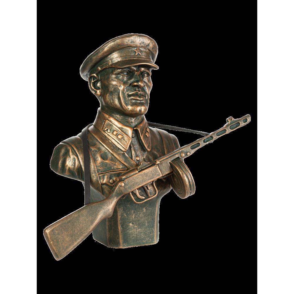 Бюст советского пограничника №8