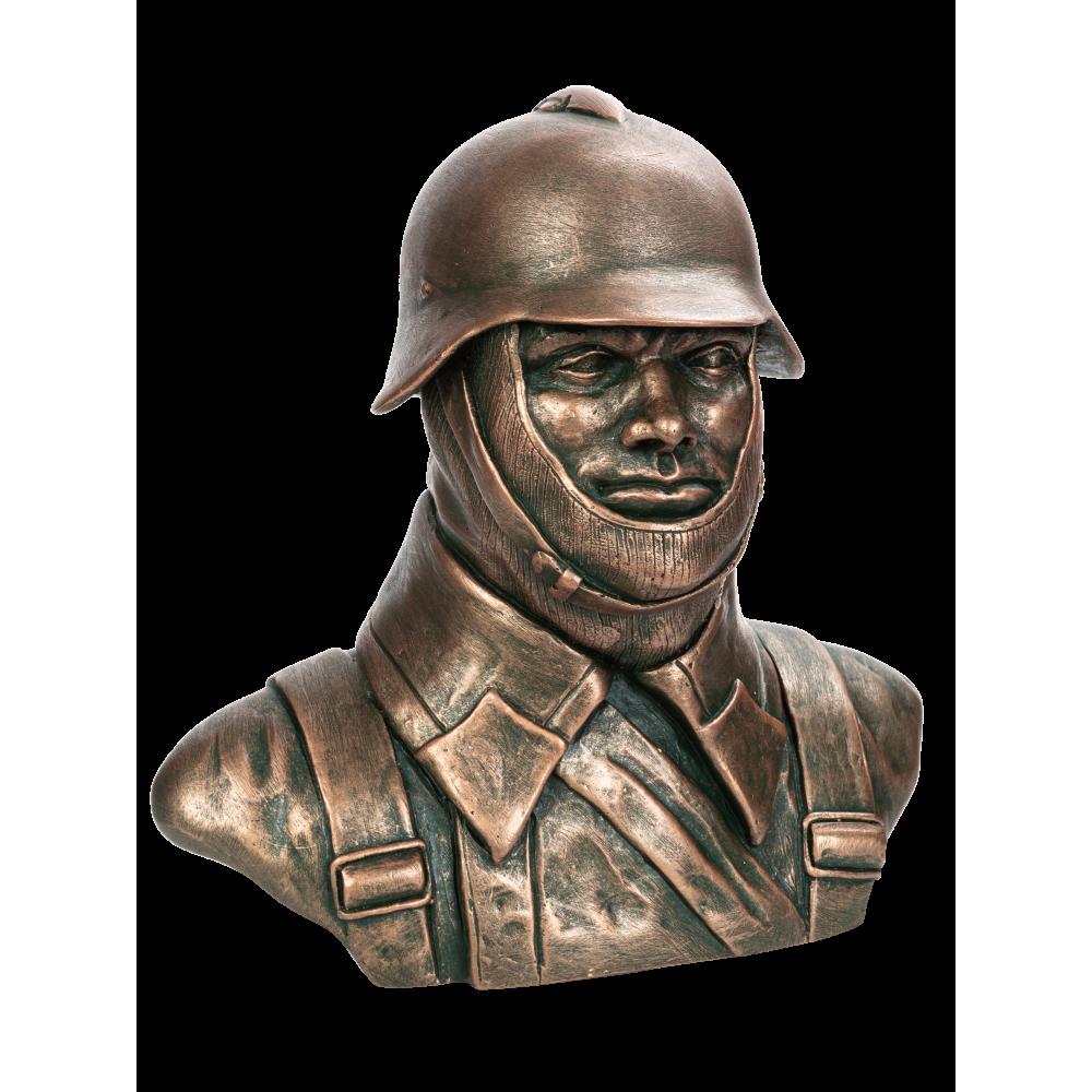 Бюст советского солдата №3