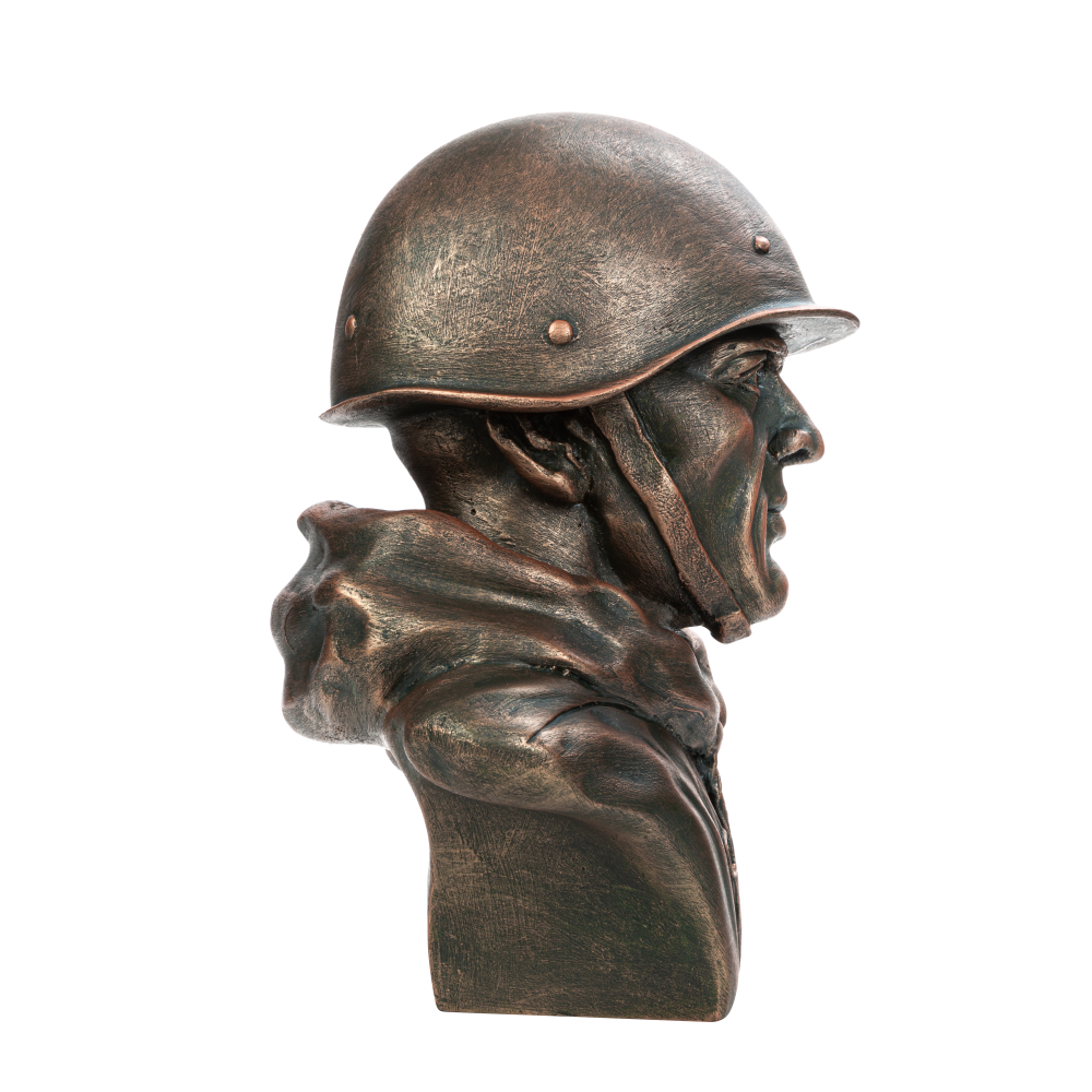 Бюст советского солдата №1